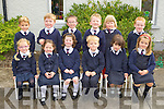 Barraduff NS junior infants  having a break on Friday front row l-r: Sarah O'Donoghue, Evelyn McGee, Grace Mullally, Morgan O?g Landy, Roisin Daly, Leah Daly. Back row: Shane Daly, Jamie Daly, Brian Murphy, Diarmuid Furlong, Bridget Sheehan and Cian O'Connor.
