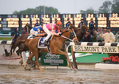 Ruler On Ice shocks the Derby winner Animal Kingdon and Preakness star Shackleford in the Belmont Stakes.