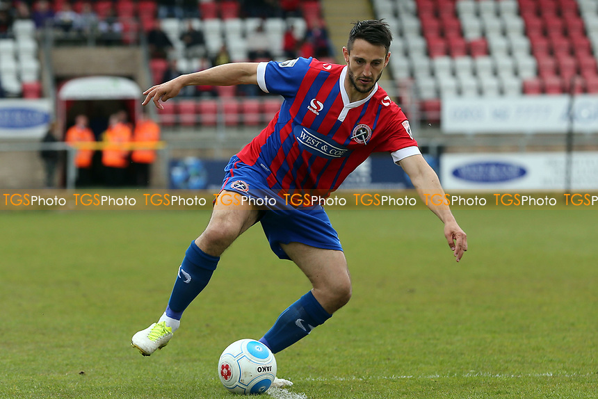 Luke Howell of Dagenham and Redbridge during Dagenham & Redbridge vs Woking, Vanarama National League Football at the Chigwell Construction Stadium on 29th April 2017
