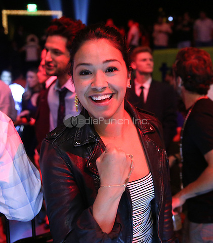 LAS VEGAS, NV - May 1: ***HOUSE COVERAGE***  Gina Rodriguez pictured at Fight Nights Top Rank Boxing at The Chelsea at The Cosmopolitan of Las Vegas in Las Vegas, NV on May 1, 2015. Credit: Erik Kabik Photography/MediaPunch