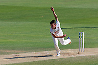 Aaron Beard in bowling action for Essex during Essex CCC vs Warwickshire CCC, Specsavers County Championship Division 1 Cricket at The Cloudfm County Ground on 20th June 2017