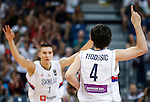 Kosarka FIBA Olympic Basketball Qualifying Tournament-FINAL<br /> Serbia v Puerto Rico<br /> Milos Teodosic (R) and Bogdan Bogdanovic<br /> Beograd, 09.07.2016.<br /> foto: Srdjan Stevanovic/Starsportphoto&copy;