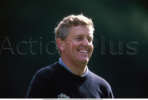 COLIN MONTGOMERIE (SCO), Cisco World Matchplay Golf, Wentworth, 001004. Photo: Matthew Clarke/Action Plus...2000.laughing.smiling.teeth.portrait.golfer golfers.portrait