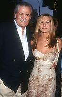 Jennifer Aniston & father John<br /> 1997<br /> Photo By Michael Ferguson/CelebrityArchaeology.com