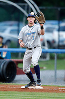 August 11, 2009:  First Baseman Ronnie LaBrie of the Vermont Lake Monsters during a game at Dwyer Stadium in Batavia, NY.  The Lake Monsters are the Short-Season Class-A affiliate of the Washington Nationals.  Photo By Mike Janes/Four Seam Images