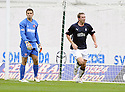 27/09/2008  Copyright Pic: James Stewart.File Name : sct_jspa03_falkirk_v_hamilton.HAMILTON KEEPER TOMAS CERNY LOOKS ON AS STEVE LOVELL CELEBRATES SCORING FALKIRK'S FIRST.....James Stewart Photo Agency 19 Carronlea Drive, Falkirk. FK2 8DN      Vat Reg No. 607 6932 25.Studio      : +44 (0)1324 611191 .Mobile      : +44 (0)7721 416997.E-mail  :  jim@jspa.co.uk.If you require further information then contact Jim Stewart on any of the numbers above........