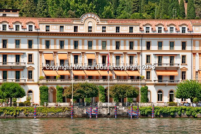 Villa d'Este hotel on Lake Como, Italy