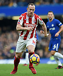 Charlie Adam of Stoke City during the premier league match at Stamford Bridge Stadium, London. Picture date 30th December 2017. Picture credit should read: Robin Parker/Sportimage