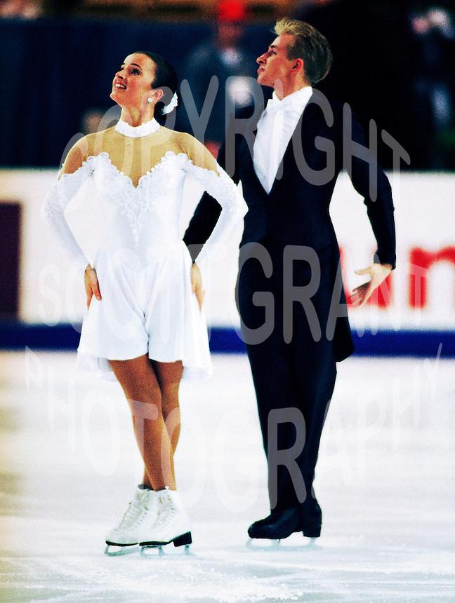Sylvia Nowak and Sebastien Kolasinski. Poland. Skate Canada. Photo F. Scott Grant