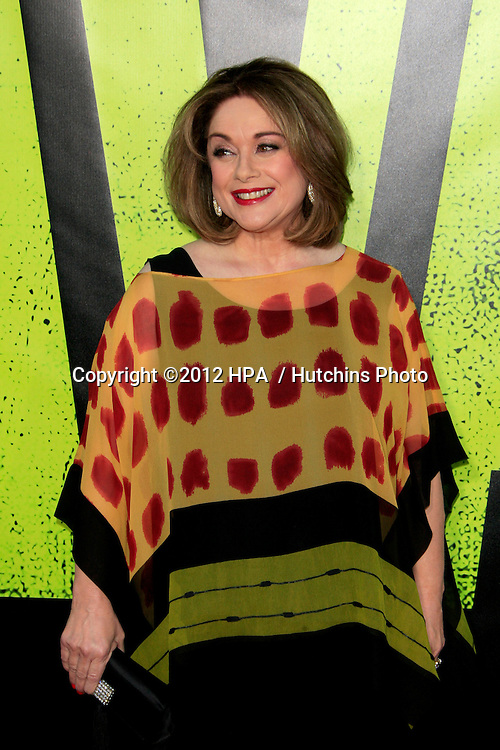 """LOS ANGELES - JUN 25:  Donna Pescow arrives at the """"Savages"""" Premiere at Village Theater on June 25, 2012 in Westwood, CA"""