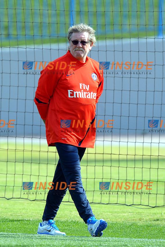 Giovanni Mauri Preparatore Atletico PSG  .Doha 3/1/2012 .Allenamento del PSG Paris Saint Germain.Foto Insidefoto / Anthony Bibard / FEP / Panoramic .ITALY ONLY