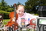 MUSIC MAKER: Laura Dillon from Abbeyfeale who won seven titles at the Limerick Feile Cheoil at the weekend..