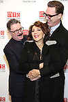Nathan Lane, Andrea Martin, and Devlin Elliott attends the 2016 Manhattan Theatre Club's Fall Benefit at 583 Park Avenue on November 21, 2016 in New York City.