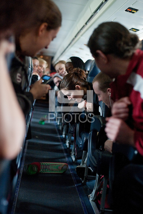 SAN JOSE, CA - MARCH 24, 2011: Stanford Women's Basketball, NCAA West Regionals on March 24, 2011.
