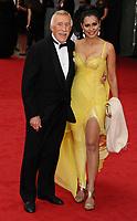 Bruce and Wilnelia Forsyth dies at 89 retro set - <br /> arriving for the BAFTA TV Awards 2013 at the Royal Festival Hall, South Bank Centre London.<br /> <br /> ©Ash Knotek  D2616 12/05/2013
