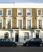 The property is located in a traditional Victorian terrace of town houses in a popular street in central London