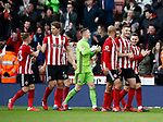 The boys take in the applause during the Premier League match at Bramall Lane, Sheffield. Picture date: 7th March 2020. Picture credit should read: Simon Bellis/Sportimage