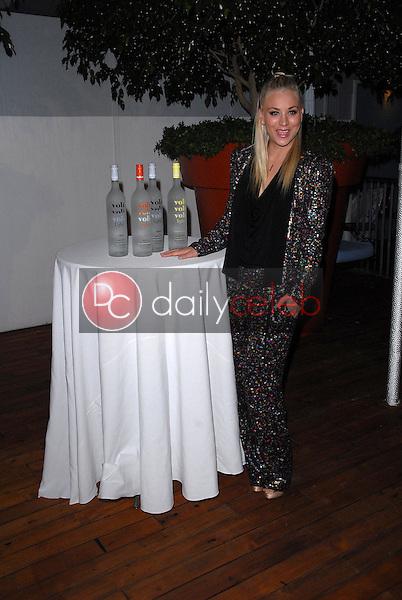 Kaley Cuoco<br /> at Voli Light Vodka's Holiday Party, SkyBar, West Hollywood, CA 12-06-12<br /> David Edwards/DailyCeleb.com 818-249-4998
