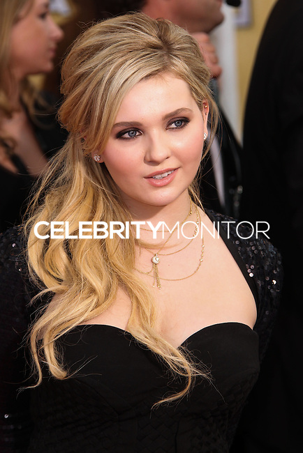 LOS ANGELES, CA - JANUARY 18: Abigail Breslin at the 20th Annual Screen Actors Guild Awards held at The Shrine Auditorium on January 18, 2014 in Los Angeles, California. (Photo by Xavier Collin/Celebrity Monitor)