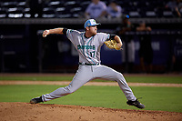 Daytona Tortugas relief pitcher Michael Byrne (17) during a Florida State League game against the Tampa Tarpons on May 18, 2019 at George M. Steinbrenner Field in Tampa, Florida.  Daytona defeated Tampa 7-6.  (Mike Janes/Four Seam Images)
