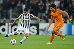 IM Torino 05-11-2013 Juventus Stadium<br /> Champions League 2013/2014<br /> Juventus Vs Real Madrid<br /> nella foto Tevez-Khedira<br /> foto Marco Iorio