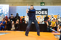 "British actor Ray Parks, who was Darth Maul at ""Star Wars Episode I"" visit Expocomic 2016 in Madrid, Spain. December 03, 2016. (ALTERPHOTOS/BorjaB.Hojas) /NORTEPHOTO.COM"