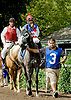 Midnight Exchange with Juan Picon Jr.  before The International Gentleman Fegentri Race at Delaware Park on 9/8/12