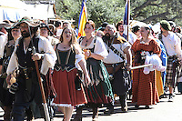 Oct. 31, 2015. Escondido,  CA. USA|The Queens Parade during the 16th Annual Escondido Renaissance Faire and Pirates in the Park held at Felicita Park Saturday .| Photos by Jamie Scott Lytle. Copyright.