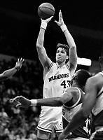 Warriors Jim Petersen against Seattle...(1990 photo/RonRiesterer)