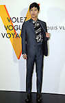 """April 21, 2016, Tokyo, Japan - Japanese actor Haruma Miura smiles during a photo call for the reception of Louis Vuitton's art exhibition in Tokyo on Thursday, April 21, 2016. French luxury barnd Luis Vuitton will hold the exhibition """"Volez, Voguez, Voyagez"""" in Tokyo from April 23 through June 19.  (Photo by Yoshio Tsunoda/AFLO) LWX -ytd-"""