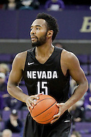 SEATTLE, WA - DECEMBER 11:  Nevada's D.J. Fenner against Washington.  Nevada defeated Washington 87-85 at Alaska Airlines Arena in Seattle, WA.
