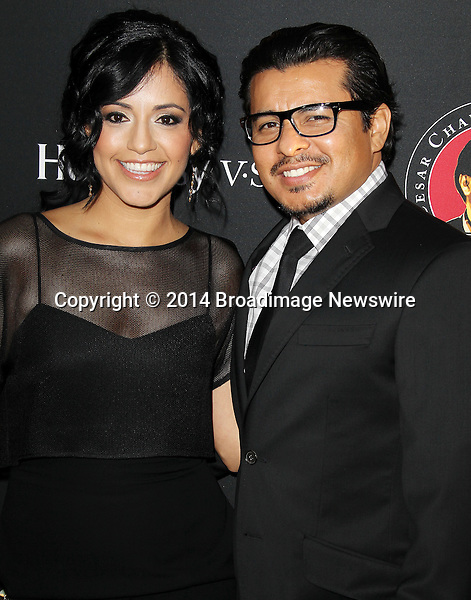 Pictured: Jacob Vargas, Silvia Vargas<br /> Mandatory Credit &copy; Frederick Taylor/Broadimage<br /> Premiere Of Pantelion Films And Participant Media's &quot;Cesar Chavez&quot; - Arrivals<br /> <br /> 3/20/14, Hollywood, California, United States of America<br /> <br /> Broadimage Newswire<br /> Los Angeles 1+  (310) 301-1027<br /> New York      1+  (646) 827-9134<br /> sales@broadimage.com<br /> http://www.broadimage.com