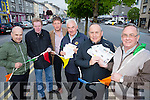 Launching the Castleisland Chamber Alliance Summer Fest on Thursday 7th to Sunday 10th July 2016. Evenings start at 7.00pm. Thursday evening begins with Humphrey Murphy Memorial 5K Fun Run plus 10K Run.Friday night at 8.30pm Castleisland Desmonds White Collar Boxing in Castleisland Community Centre, Saturday 157th Running of Castleisland Races at Powell's Road with €5000 in Prizemoney and Sunday 12.00noon to 5.00pm Family Fun Day Plus Vintage Car and Machinery Display plus Live Music on Stage in Castleisland Co -Op  Mart Grounds and Bar Exemptions on Friday, Saturday and Sunday .l-r  Peter Browne,  Local Vitners, Ted Kenny, Secretary, Thomas O'Connor, Schools Representative, Charlie Farley, Vice Chairperson, Brian O'Sullivan, Treasurer and Pat Hartnett, Assistant Secretary.