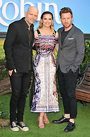 Marc Forster, Hayley Atwell and Ewan McGregor at the &quot;Christopher Robin&quot; European film premiere, BFI Southbank, Belvedere Road, London, England, UK, on Sunday 05 August 2018.<br /> CAP/CAN<br /> &copy;CAN/Capital Pictures