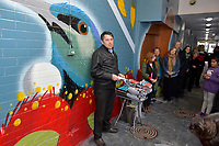20170729 Hutt City Council -  Queen's Arcade mural launch