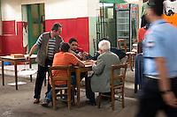 Nordzypern, Cafe in der Markthalle in Nicosia Lefkosa)