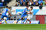 11.05.2019, PreZero Dual Arena, Sinsheim, GER, 1. FBL, TSG 1899 Hoffenheim vs. SV Werder Bremen, <br /> <br /> DFL REGULATIONS PROHIBIT ANY USE OF PHOTOGRAPHS AS IMAGE SEQUENCES AND/OR QUASI-VIDEO.<br /> <br /> im Bild: Milos Veljkovic (SV Werder Bremen #13) gegen Ishak Belfodil (TSG Hoffenheim #19)<br /> <br /> Foto &copy; nordphoto / Fabisch