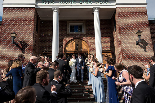 St. Johns Church, Parchment<br /> Lauren and Ted's Wedding