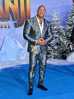 """LOS ANGELES, USA. December 10, 2019: Dwayne Johnson at the world premiere of """"Jumanji: The Next Level"""" at the TCL Chinese Theatre.<br /> Picture: Paul Smith/Featureflash"""