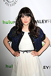 BEVERLY HILLS, CA - MAR 5: Zooey Deschanel at The Paley Center For Media's PaleyFest 2012 honoring 'New Girl' at the Saban Theater on March 5, 2012 in Beverly Hills, California