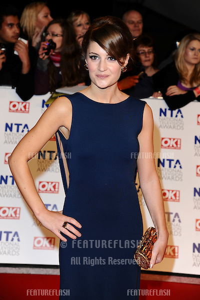 Paula Lane arriving for the National Television Awards, O2, London. 25/01/2012 Picture by: Steve Vas / Featureflash