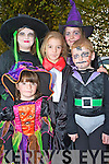 Pictured at the Halloween Party in Beaufort Community Centre on Sunday were Aisling and Ciara O'Sullivan, Luke O'Connor, Aoife O'Brien and Sinead Coffey.