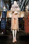 Daisy Buchanan dress shown at the Catherine Martin and Muccia Prada Dress Gatsby display at Prada store in SOHO, NYC May 4, 2013.