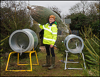 BNPS.co.uk (01202 558833)<br /> Pic: PhilYeomans/BNPS<br /> <br /> Planning ahead - Cunning schoolboy Ryan Brook(16) makes Christmas trees pay for his University fees.<br /> <br /> A schoolboy entrepreneur has grown 1,500 Christmas trees and is selling them to pay for his university fees.<br /> <br /> Ryan Brook, 16, was given his first sapling to plant by his dad aged just nine and his passion sprouted from there.<br /> <br /> Now, he devotes his weekends to planting and maintaining the trees - which he sells for &pound;20 - in his dad's field in Dean, Somerset.