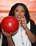 Alicia Quarles attends the 30th Annual Second Stage All-Star Bowling Classic at Lucky Strike on January 30, 2017 in New York City.