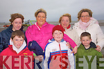 Enjoying the races at Asdee on Sunday were Jack Kennedy, Devin, Lisa, Cathal, Martina, and Patricia  Moriarty,  and Liz Kennedy all from Dingle...   Copyright Kerry's Eye 2008