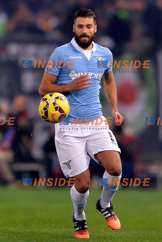 Antonio Candreva Lazio.<br /> Roma 22-11-2014 Stadio Olimpico. Football Calcio 2014/2015 Serie A. Lazio - Juventus. Foto Antonietta Baldassarre / Insidefoto