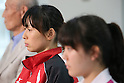 Chinatsu Matsui, SEPTEMBER 9, 2013 - Squash : Japanese Squash team attend press conference about squash not being selected from the Olympic summer Games in 2020 <br />  at Kishi Gymnasium, Tokyo, Japan. (Photo by Yusuke Nakanishi/AFLO SPORT)