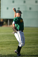 Ryan Sontag / Boise Hawks playing against the Yakima Bears - Boise, ID - 08/27/2008..Photo by:  Bill Mitchell/Four Seam Images