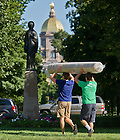 Aug. 23, 2013; Move-in 2013<br /> <br /> Photo by Matt Cashore/University of Notre Dame